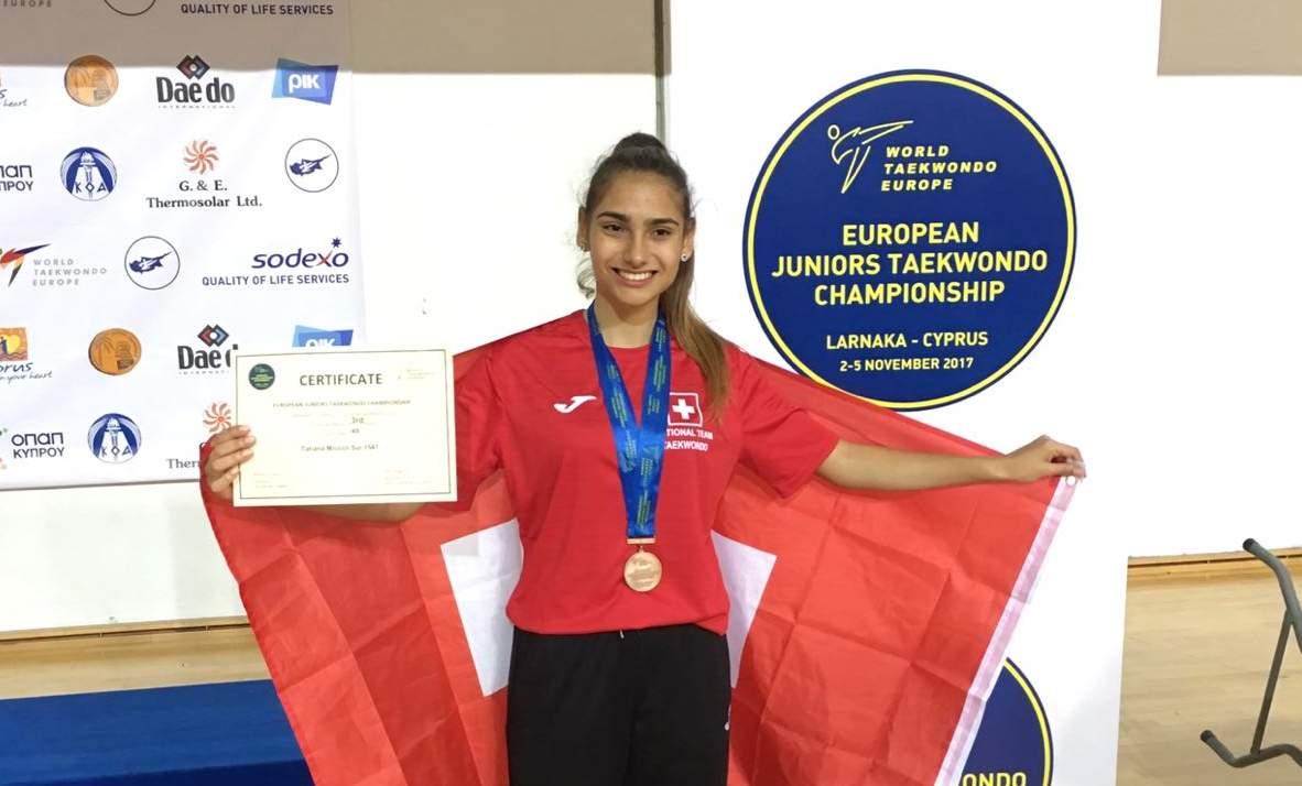 European Junior Championship 2017 – Larnaka, Cyprus- 1 Bronze