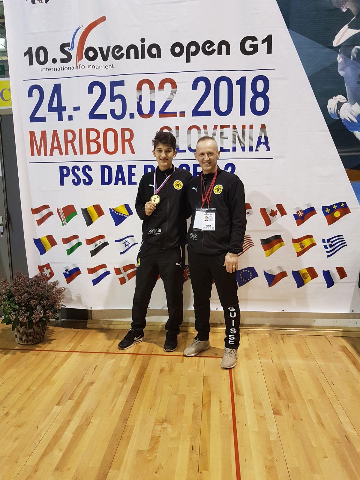 (K) Slovenia Open 2018 WT G1: 1 Gold Medal