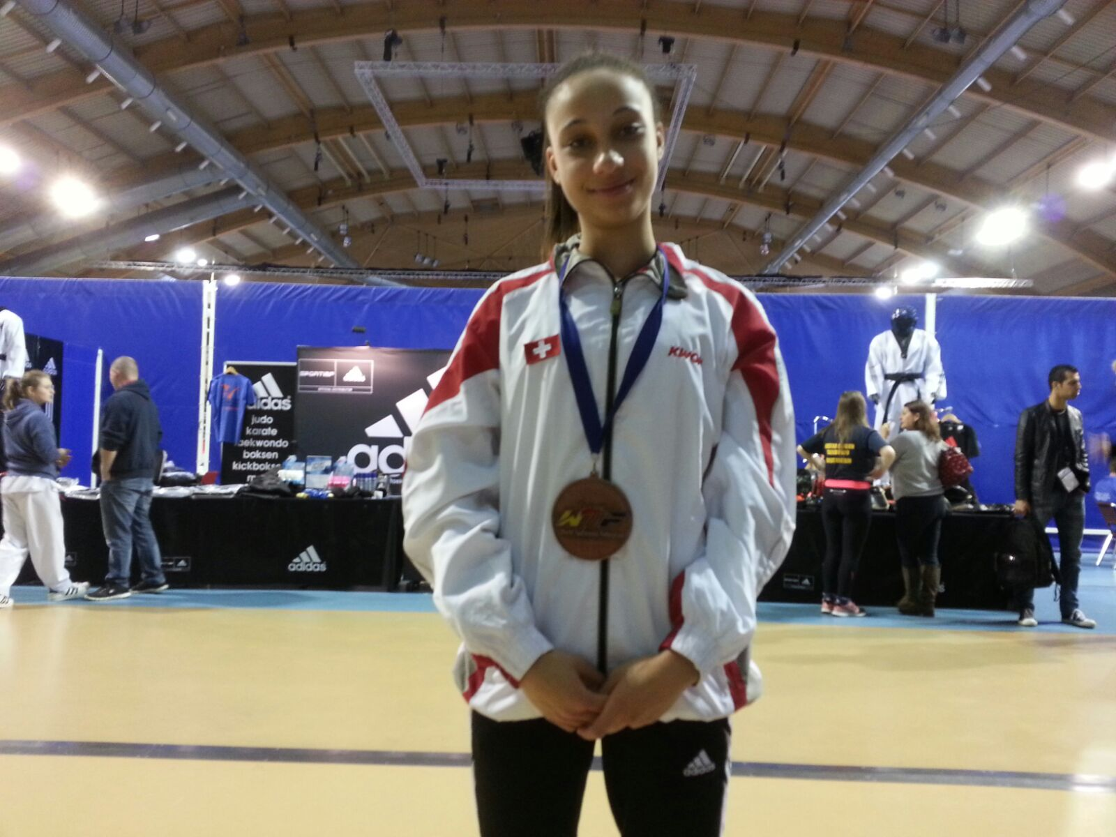 (K) Dutch Open 2016 WT G1: 1 Bronze Medal