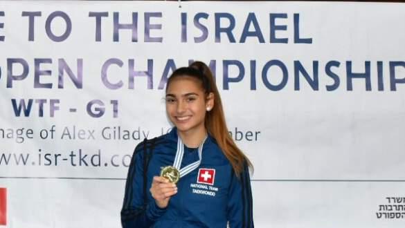 (K) Israel Open 2017 WT G1 – 1 Gold Medal