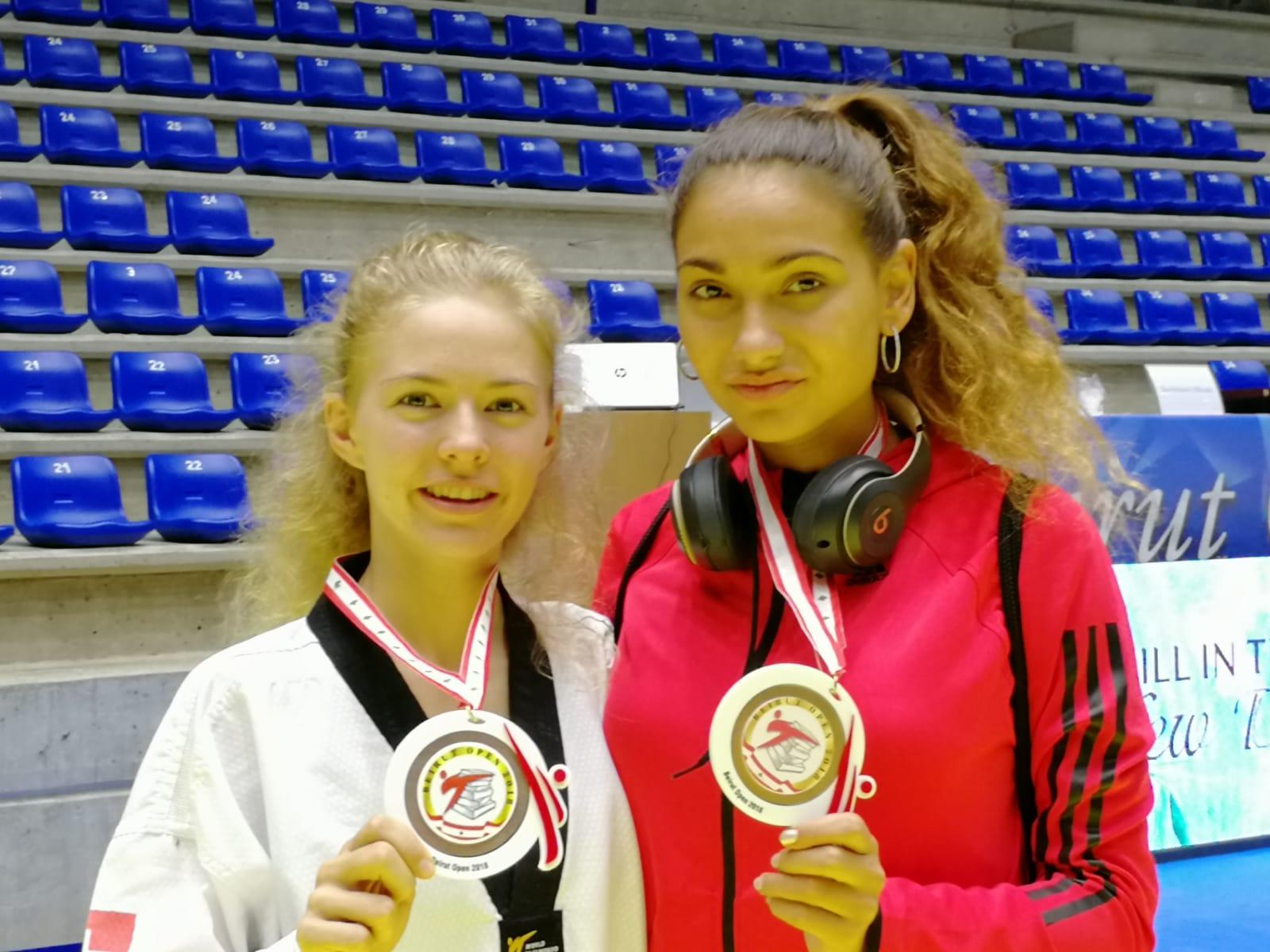(K) Beirut Open 2018 WT G1: 2 X Bronze Medal