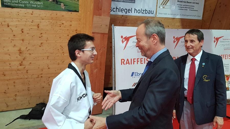 Kenji Nakamura – First Swiss Para-Poomsae Champion