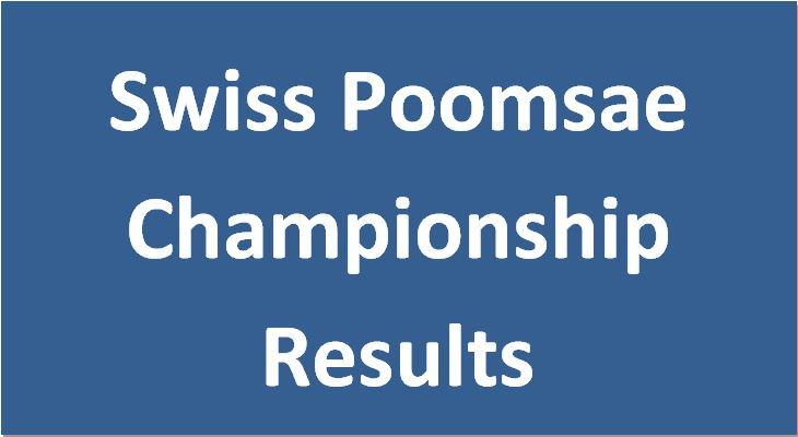 Swiss Poomsae Championship 2018 Wattwil