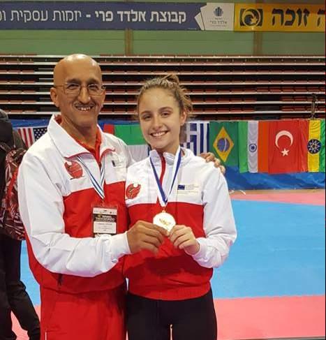 (K) Israel Open 2018 WT G1: Gold Medal