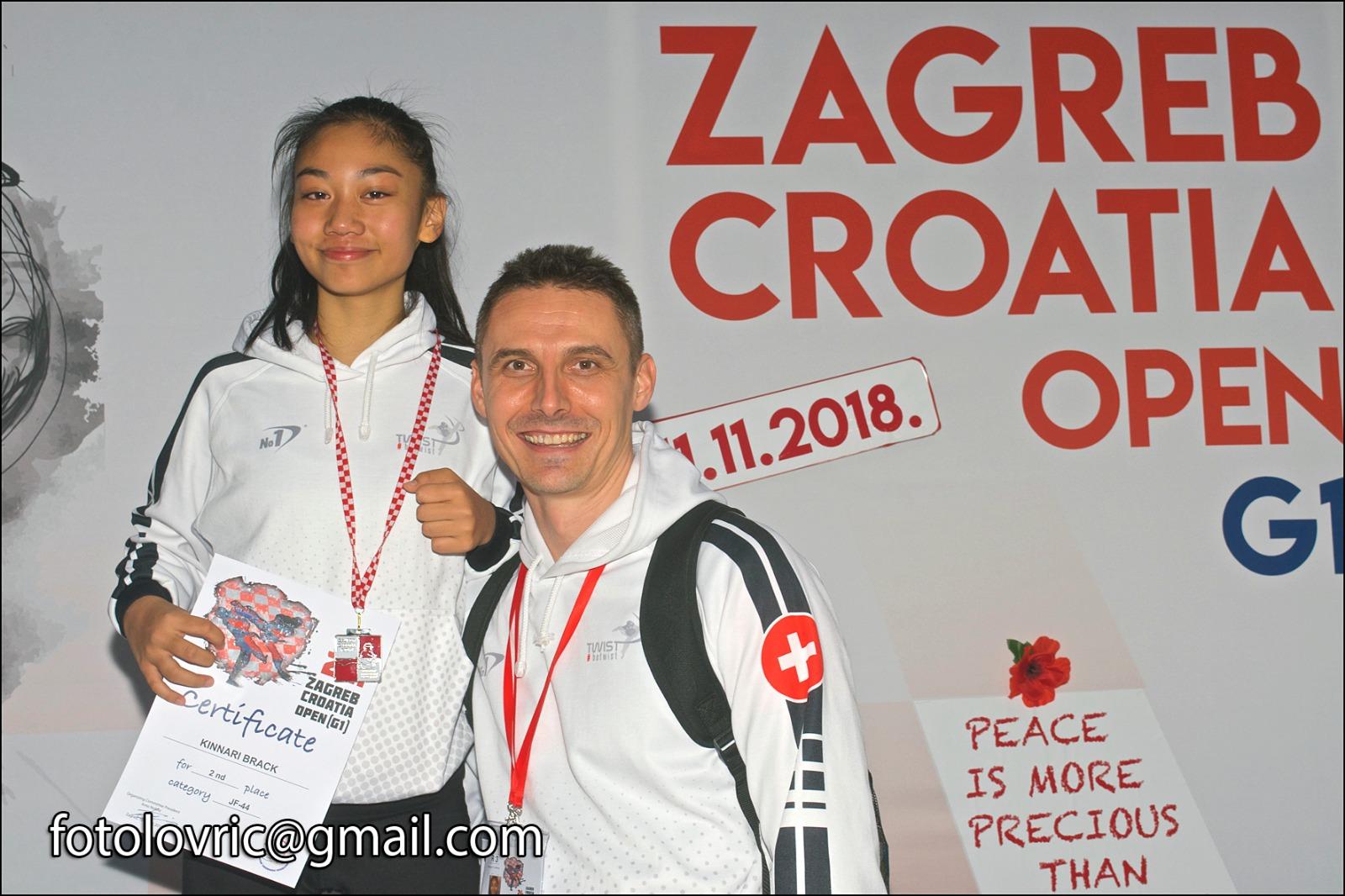 (K) Croatia Open 2018 WT G1: Silver Medal
