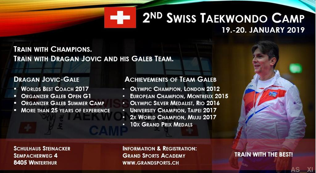 (K) 2nd Swiss Taekwondo Camp, Winterthur, 19-20.01.2019