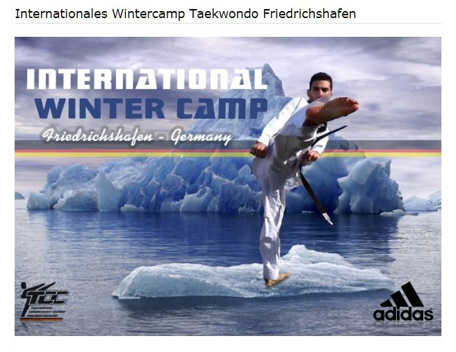 Internationales Wintercamp Taekwondo Friedrichshafen 2019