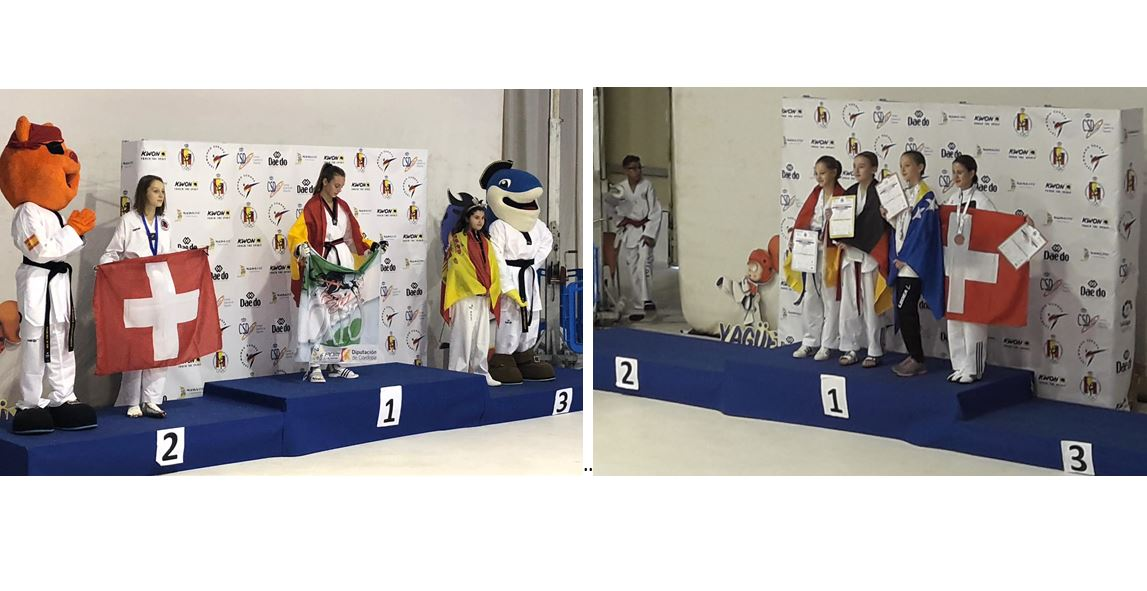 (K) European Clubs Championships Kids: 1 X Silver & 1 X Bronze