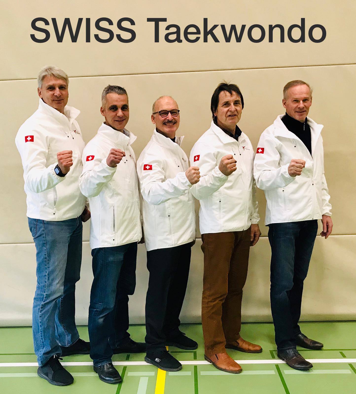 Swiss Taekwondo DAN Test II 2018
