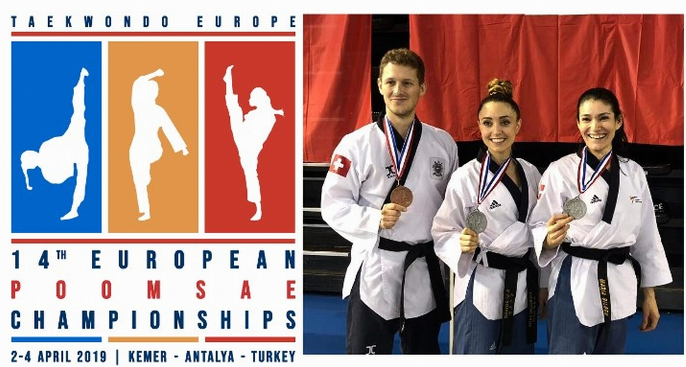 Swiss Poomsae National Team – European Poomsae Championships 2019, Antalya – Turkey