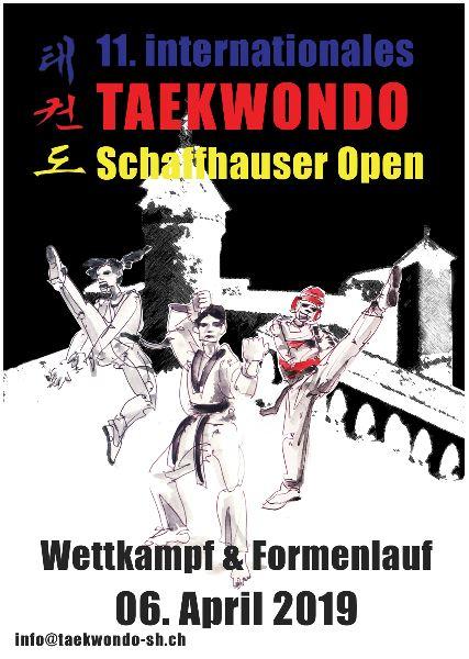 11° International Taekwondo Schaffhausen Open 2019