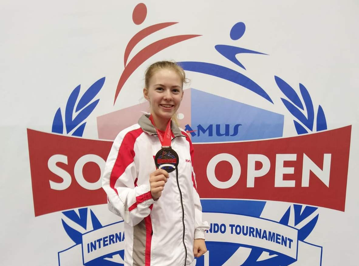 (K) Andrea Schnell Bronze Medal- Sofia Open 2019 WT G1