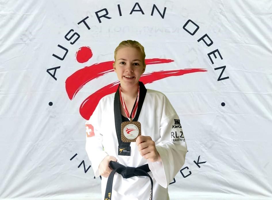 (K) Andrea Schnell Bronze Medal- Austrian Open 2019 WT G1