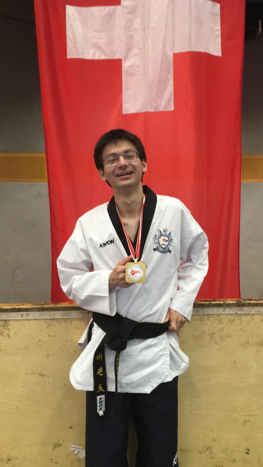 Kenji Nakamura: 1 Gold (P20) – Austrian Open Para Poomsae 2019