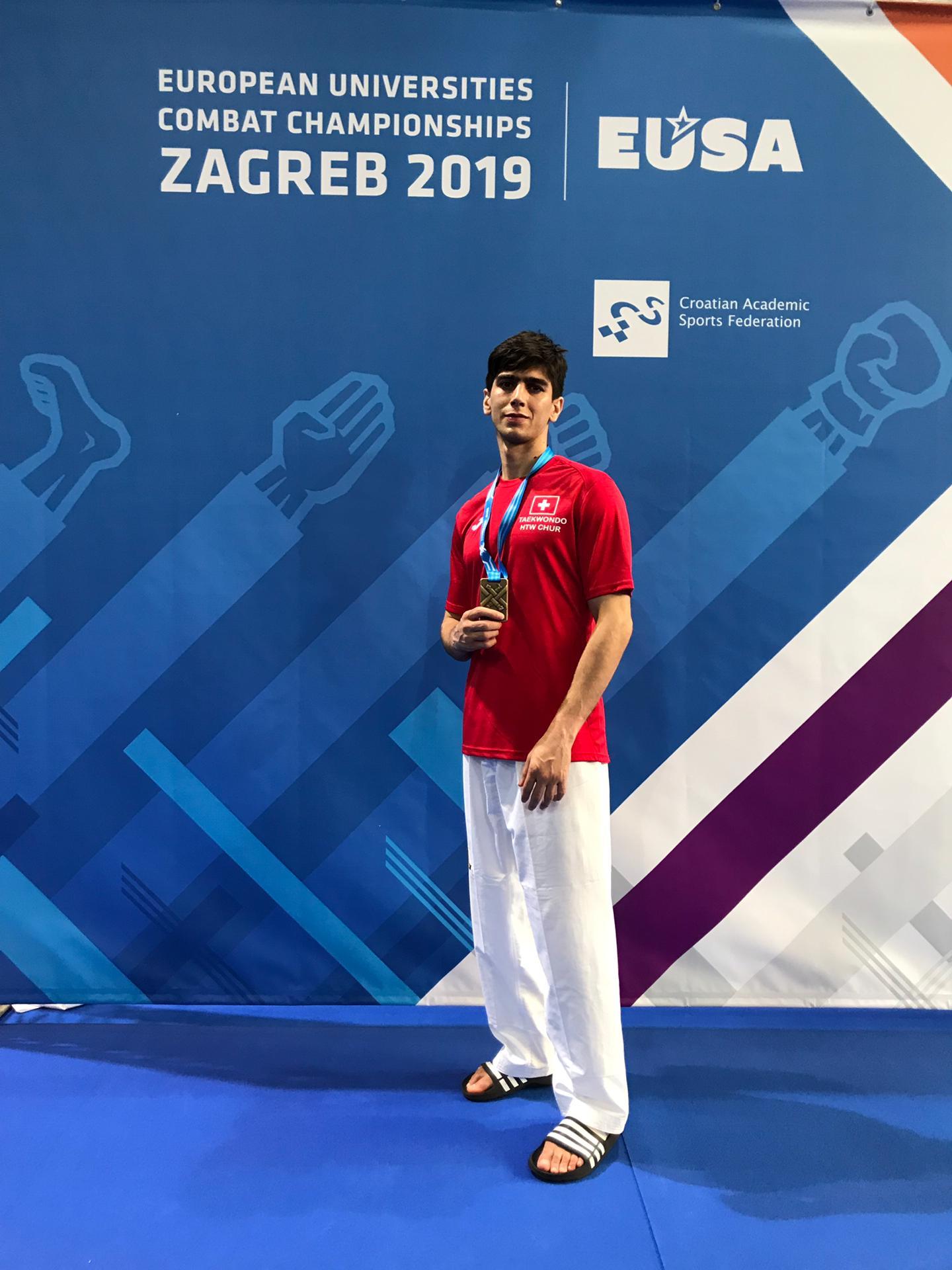 (K) Bronze-Seyedehsan Naghibzadeh-HTW Chur-EUSA Zagreb 2019