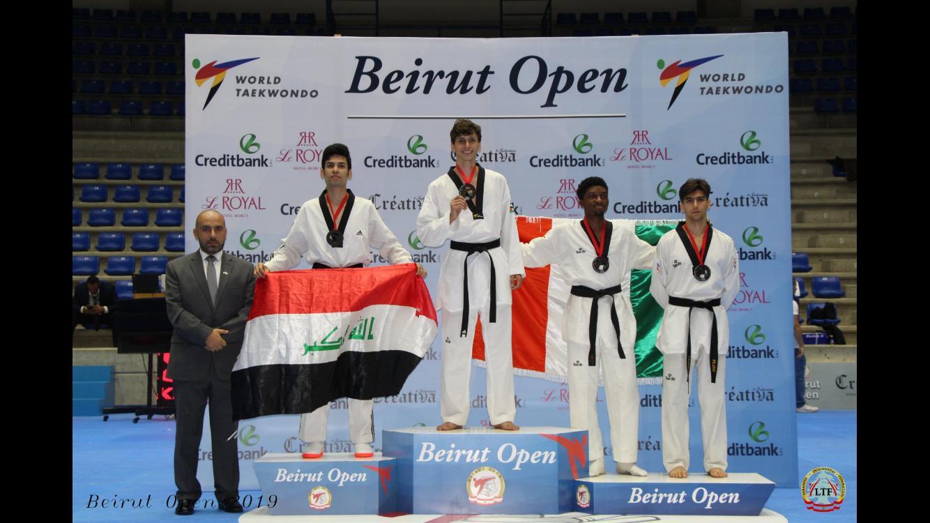 (K) Bronze-Seyedehsan Naghibzadeh-Beirut Open 2019 WT-G1