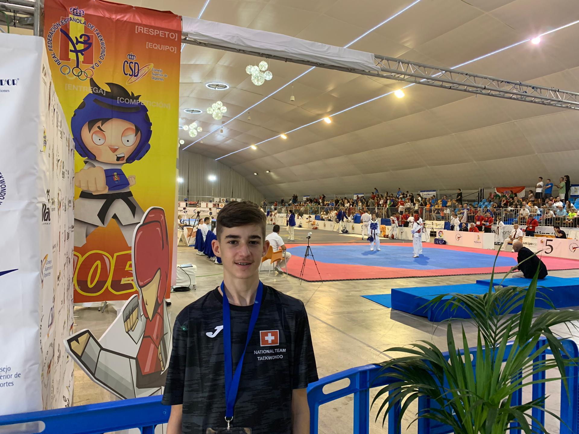 Leonardo Mair-WTE Cadets Championship-Marina d'OR- Spain 01-03.10.2019