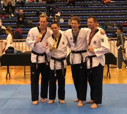 Silvermedal – Luzian Kopp at Belgian Open Poomsae