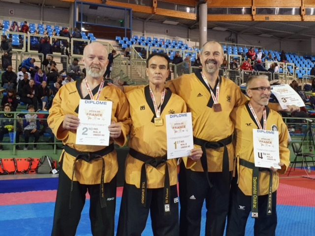 Silvermedal – Michel Heldner at French Open Poomsae