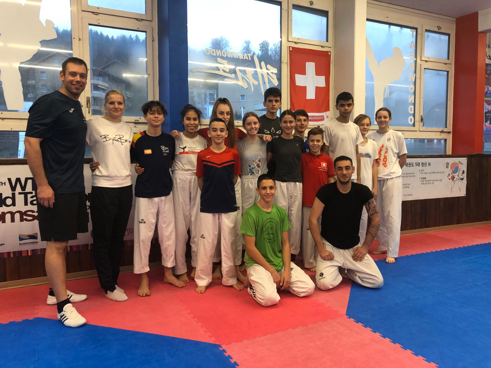 European Champion visits  National Team Training Cadets & Juniors