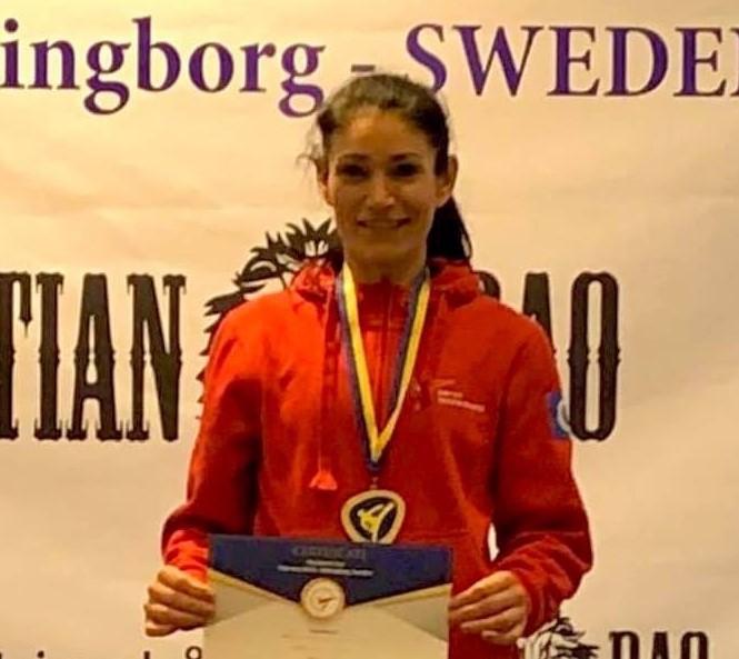 Goldmedal –  Maria Gilgen Presidents Cup Pomsae G1 2020