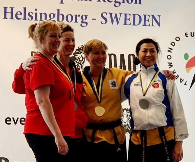 Silvermedal – Gulnara Topaeva Presidents Cup Pomsae G1 2020