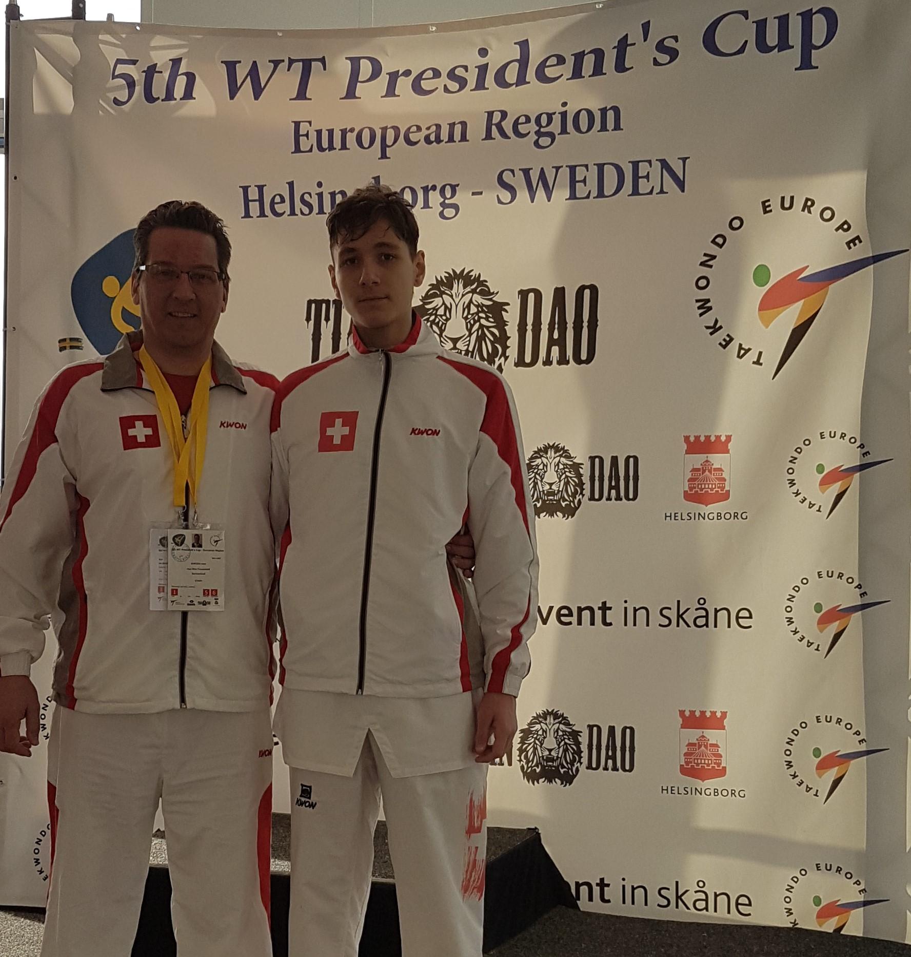 RLZO Frauenfeld am 5. Presidents Cup  in Helsingborg