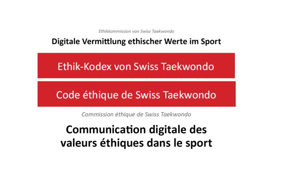 Ethische Werte im Sport / valeurs éthiques dans le sport