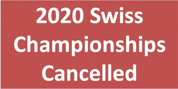 Swiss Championship 2020 (Poomsae & Kyorugi) cancelled
