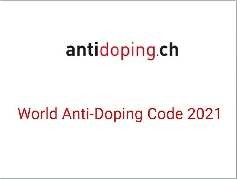 Welt-Anti-Doping-Code 2021 / Code mondial antidopage 2021