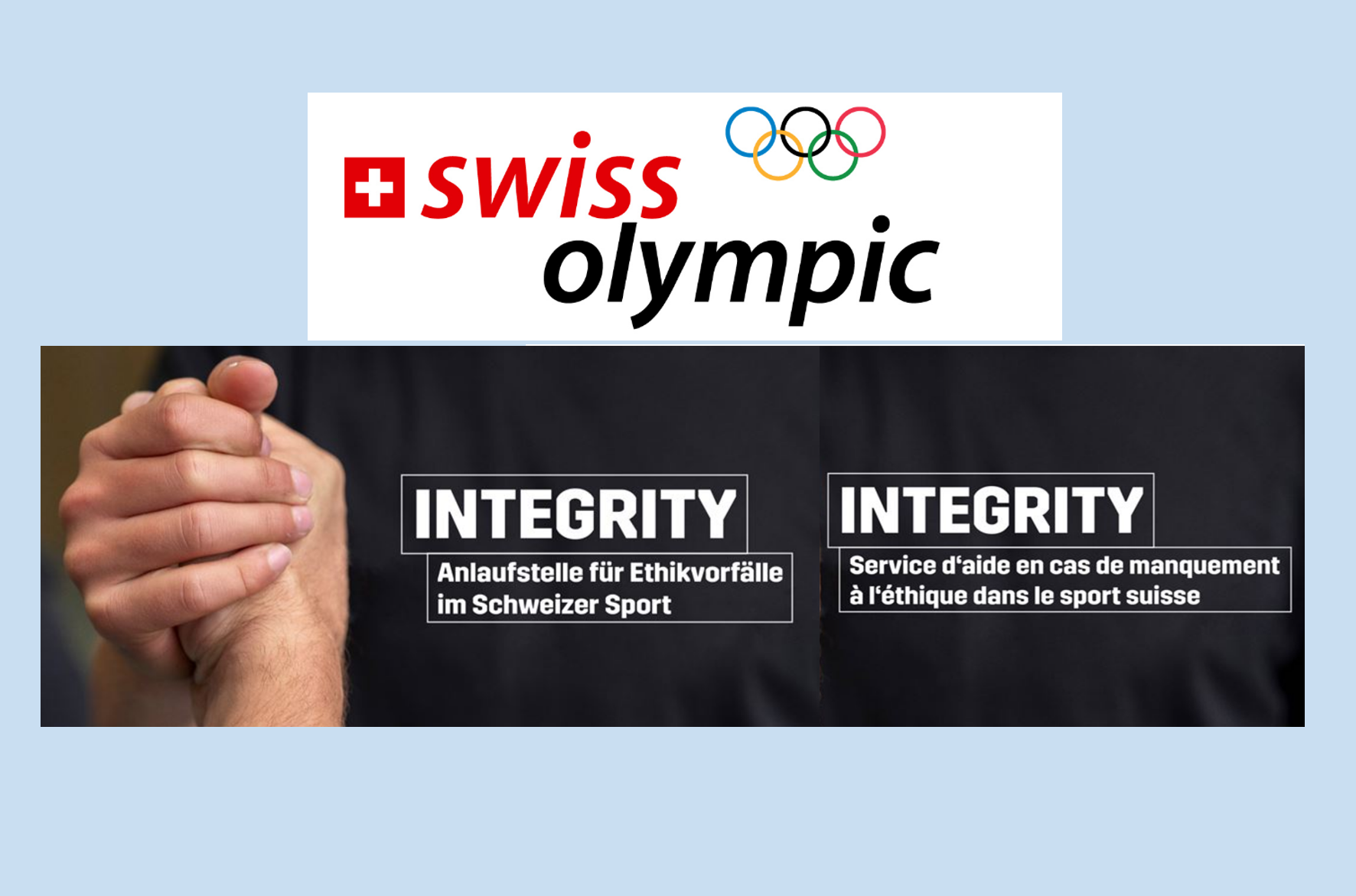 INTEGRITY – Swiss Olympic