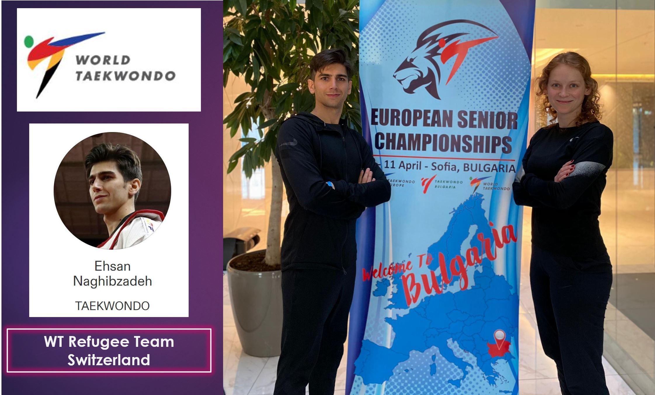 WT Refugee Team Switzerland : European Seniors Taekwondo Championships – Sofia, Bulgaria – 08-11.04.2021
