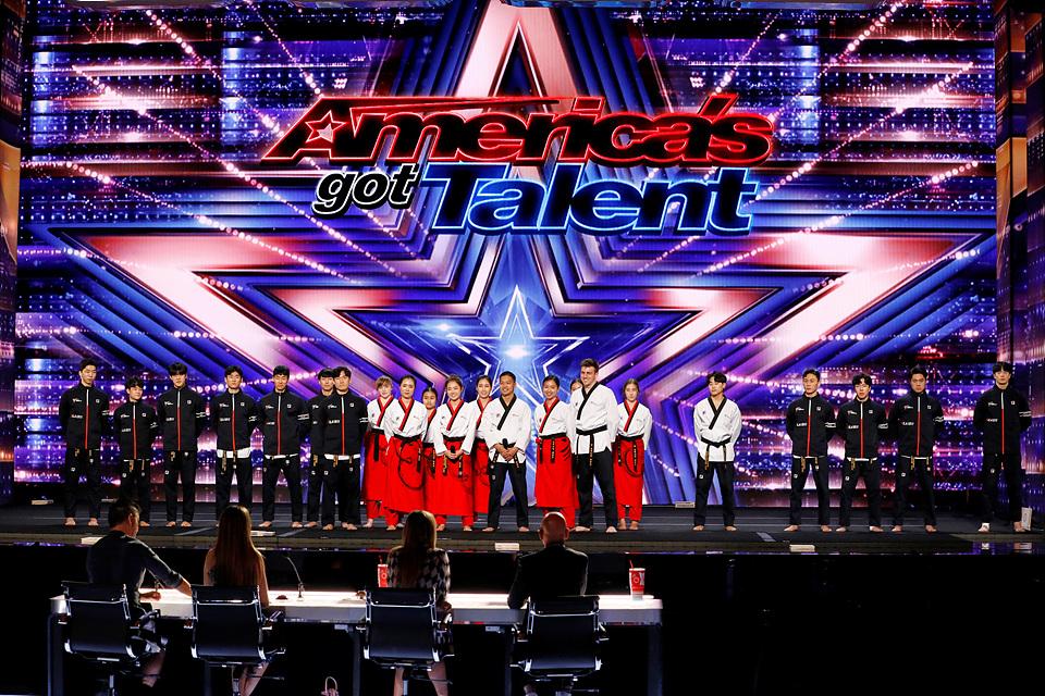 Golden Buzzer: World Taekwondo Demonstration Team Shocks the Judges – America's Got Talent 2021