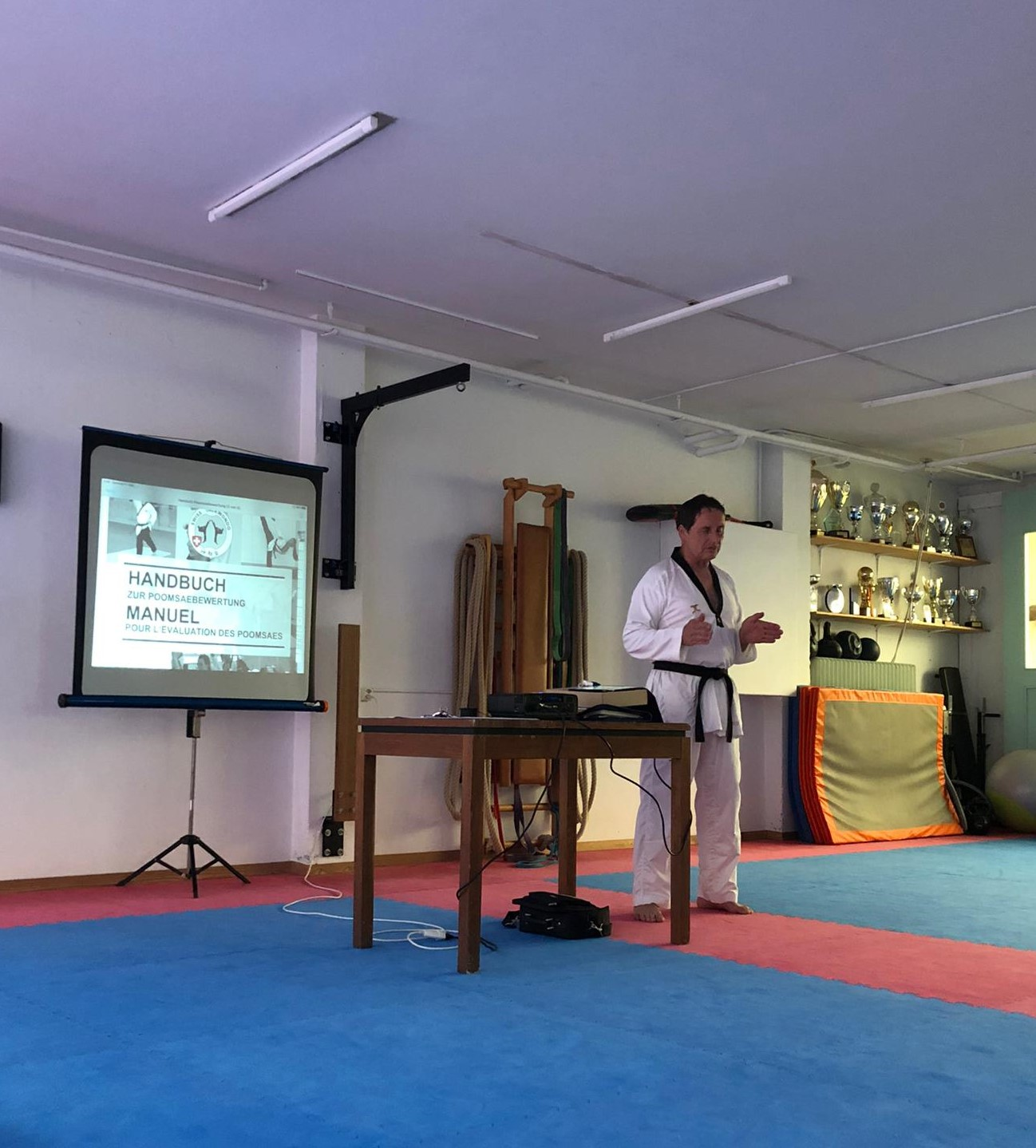 Refresher Course for certified National Poomsae Referees 11.09.2021